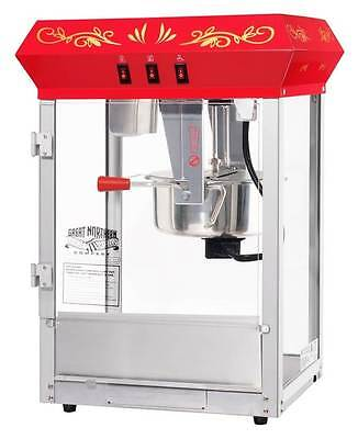 All Star GNP-850 8 oz. Red Popcorn Machine [ID 99865]