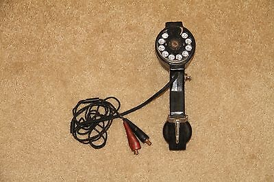 ~ Vintage BECO Lineman Telephone Employee Tester Rotary Phone Handset Dialer ~