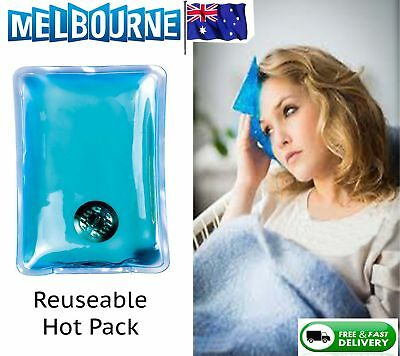 Reusable Instant Heat Hot Cold Pack Pad Back Heating Warmer Gel Eyes Face New