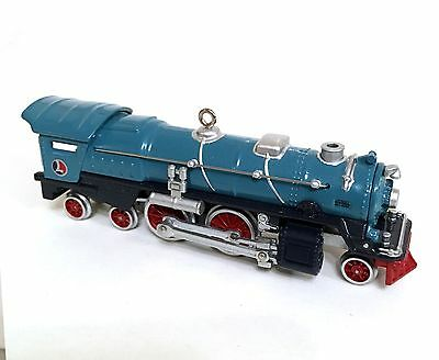 Hallmark Keepsake Ornament: Lionel Blue Comet 400E Steam Locomotive 2002