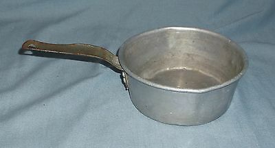 Vintage Small Wearever Aluminum Pan w/ Spout SOS Scouring Pad Ad on Bottom
