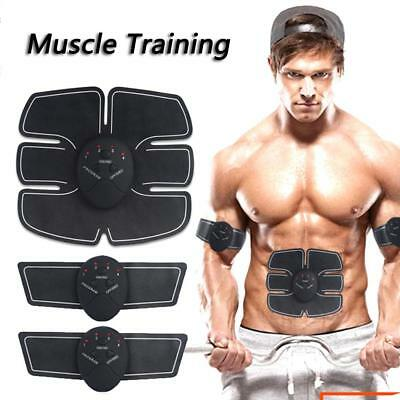 EMS Remote Control Abdominal Muscle Trainer Smart Body Building Fitness Abs New