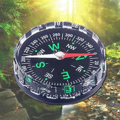 Pocket Survival Liquid Filled Button Compass for Hiking Camping for Outdoor DSUK