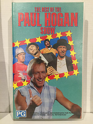 The Best Of The Paul Hogan Show ~ As New Rare Vhs Video