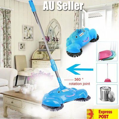 Hurricane Spin Broom hand-propelled home sweeper Cleaning floor Non electric GC