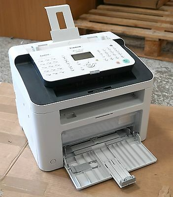 Canon I-SENSYS FAX-L150 Laser Fax Machine with Toner USED with Box and CDs etc