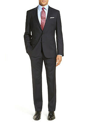 Luciano Natazzi Mens Two Piece 2 Button Suit Modern Fit Jacket With Pant