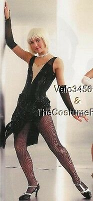 All That Jazz Dance Costume Flapper Dress and Mitts Clearance Child Large