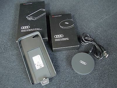 Audi Original Induktive Ladestation + Ladehülle iPhone 5/5S/SE - 6/6S - 7 - NEU
