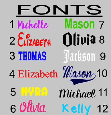 """PERSONALIZED Vinyl Decal Sticker School Supplies Label College Any Name 1"""""""