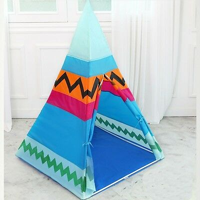 Indian Style  Children Teepees Kids Play Tent Cotton Canvas Teepee