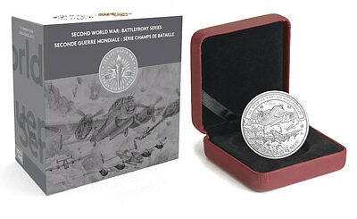 2017 Canada WWII Battlefront The Bombing War 1 oz Silver Proof $20 OGP SKU48839