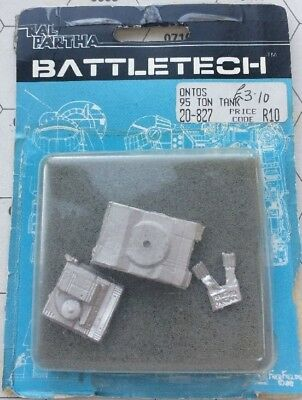 Battletech Miniature ONTOS Tank - New In Blister