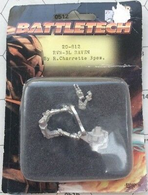 Battletech Miniature RVN-3L Raven - New In Blister