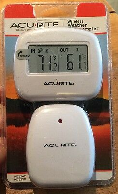 AcuRite 00782A2 Wireless Indoor/Outdoor Thermometer Temperature only