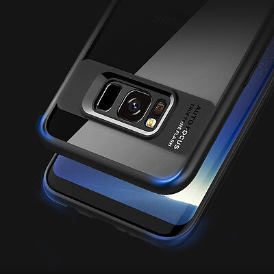 Luxury Hybrid TPU Case Slim Thin Clear Phone Cover for Samsung Galaxy S8 S8 Plus
