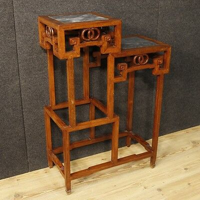 Side table furniture bookcase vases wood antique style chinese 900