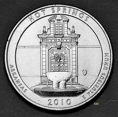 2010 D Hot Springs National Park (AR) Quarter Uncirculated Clad