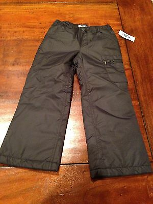 NWT new Old Navy Kids Size 4T charcoal Snow ski winter Pants