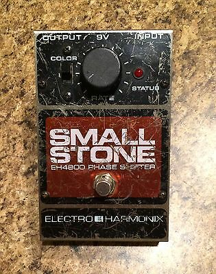 Vintage Electro Harmonix SMALL STONE EH4800 Phase Shifter Analog Guitar Pedal