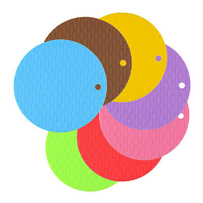 1Pc Round Non-Slip Heat Resistant Mat Coaster Cushion Placemat Pot
