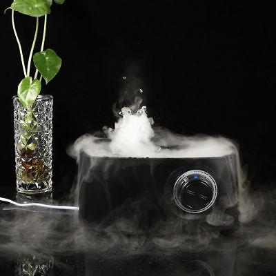 6.0L Large Steam Ultrasonic Air Humidifier Diffuser Purifier Double Mist Black