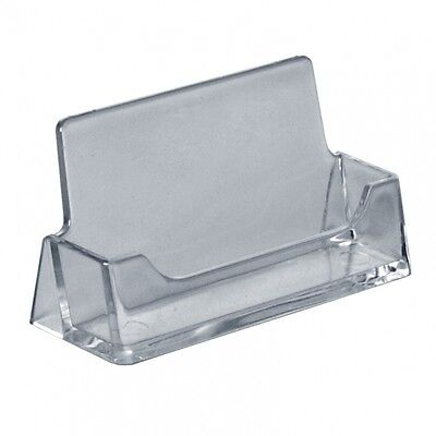 Acrylic portrait business card holder free standing counter display acrylic business card holder shop counter retail display stands dispenser reheart Image collections