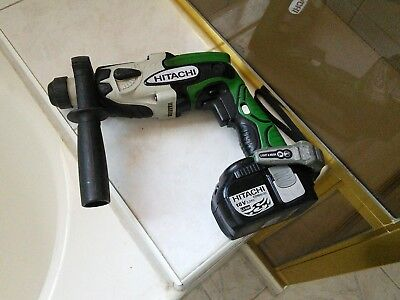 Genuine Hitachi Cordless SDS Hammer Drill DH18 DL and EBM 1830 Post Style Batt