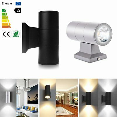 10W Led Wall Lamp Cylinder COB Led Wall Light Up/Down Waterproof Wall Sconce