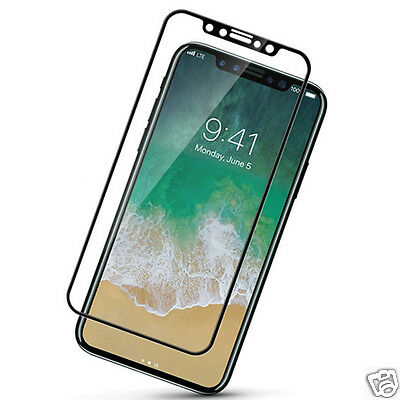 Hot ! Solid Clear Glass Phone Screen Shockproof Protector Guard For iPhone 8 New