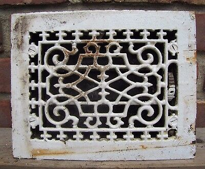 Antique Cast Iron Ventilation Grate old architectural building hardware vent 1