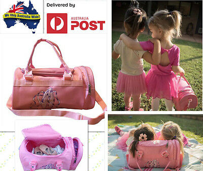 Ballet/JAZZ/gymnastics Dancing Bag Kids Girl Dancer Pink Ballerina luggage bag