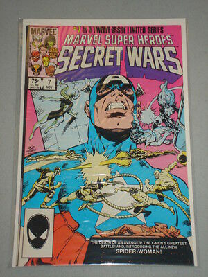 Marvel Super Heroes Secret Wars #7 Vol 1 1St New Spiderwoman November 1984