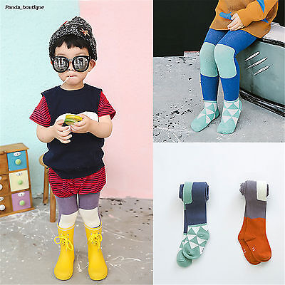 Lovely Blue Cotton Pantyhose Christmas Fall Girls Assorted Colors Baby Tights