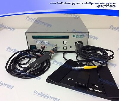 Linvatec E9000 Hall Surgical Controller w/ MC9840 Shaver + C9863 Footswitch
