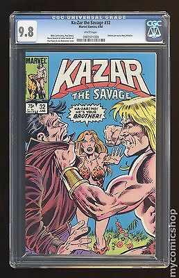 Ka-Zar the Savage (1981) #32 CGC 9.8 0965571009