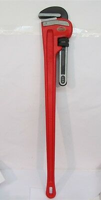 "Ridgid 31040, 48"" Heavy Duty Straight Pipe Wrench - MADE IN USA"