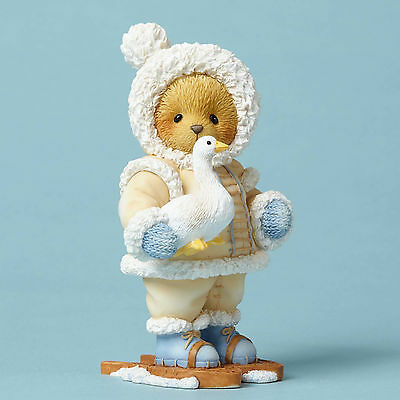 Cherished Teddies*ESKIMO BEAR with SNOW GOOSE*New*NIB*Winter*TAKODA*4053476