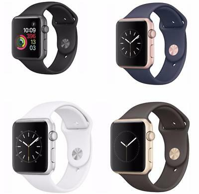 Apple Watch 1st Gen 38/42mm (Aluminium/Stainless Steel) Sports Band -All Colors