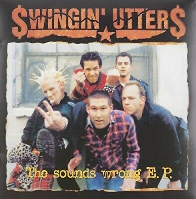 "Swingin Utters - Sounds Wrong Ep [New Vinyl LP] 10"", UK - Import"