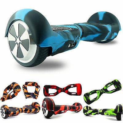 """Silicone Case Cover For 6.5"""" Wheels Smart Self Balancing Scooter Hover Board"""