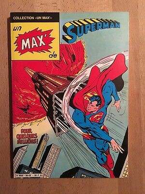 Un Max de Superman - Sagédition - 1985 - NEUF