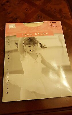 Capezio TIGHTS Footed 3C Light PINK BPK Small / Medium  (Price for 2 Packs)
