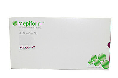 Mepiform Safetac Technology self-adherent soft silicone sheeting 4in X 7in 5/bx