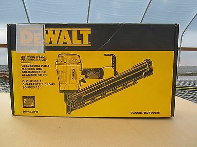 Free Ship, DEWALT  DWF83WW Pneumatic 28-Degree Framing Nailer