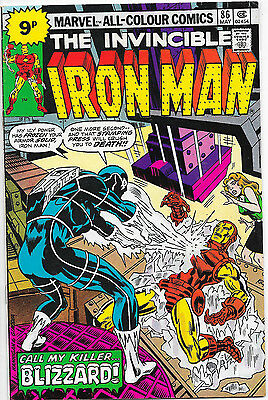 Invincible Iron Man #86 Marvel Comics 1st Appearance of Blizzard VF