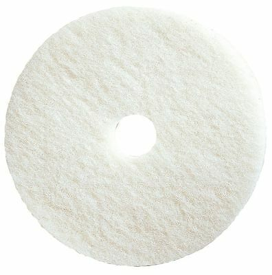 "Tough Guy 27"" White Burnishing Pad, Natural Hair, Package Quantity 2 - 4RY52"