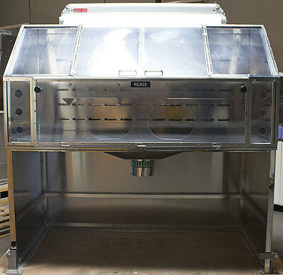 Baxter Scientific/Labconco Explosion Proof Stainless Steel 6 ft Vapor Fume Hood