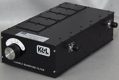 K&L/MPG 5BT-110/220-2B Tunable Bandpass Microwave Filter 110-220 MHz