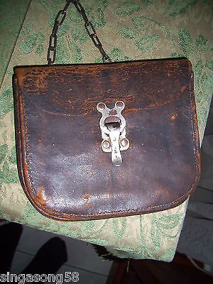 Leather Satchel 1970s